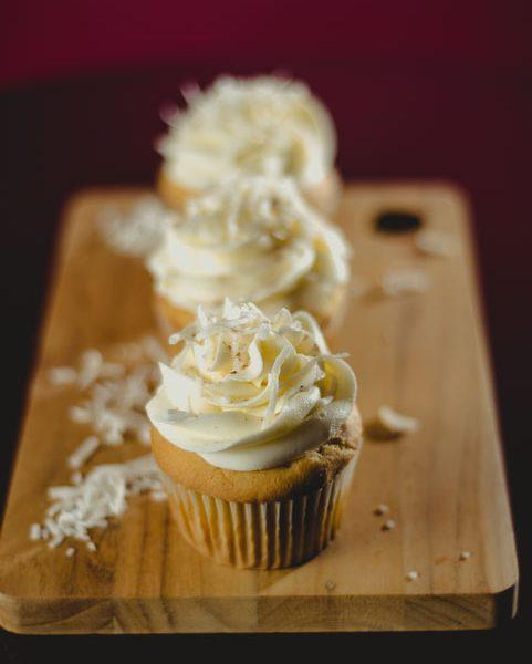 Delicioso cupcake de coco!